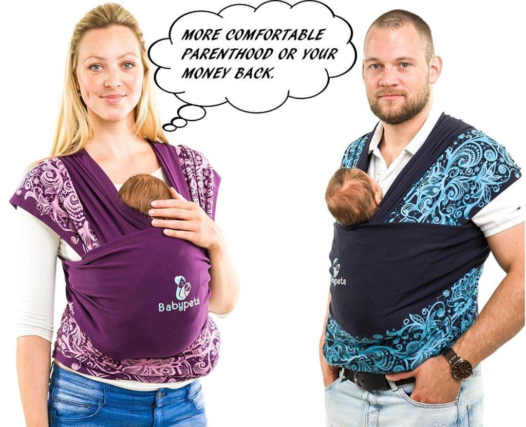 Test complet de l écharpe de portage Babypeta Baby   Comparatif   avis aac98413268